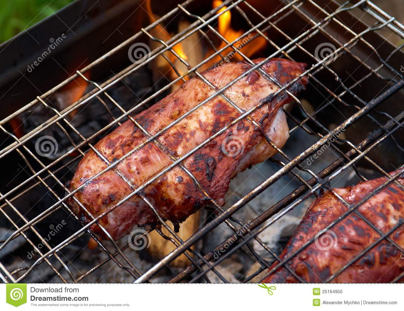 how to cook barbecue chicken on the grill