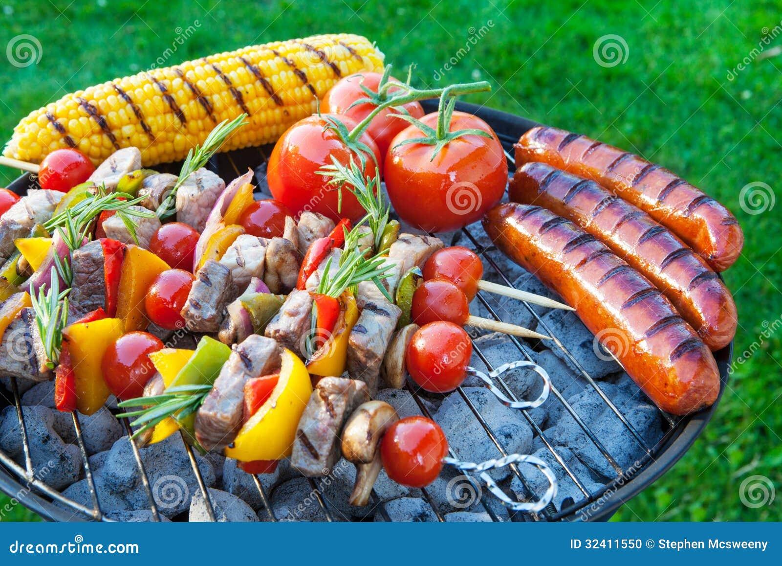 Barbecue del cortile