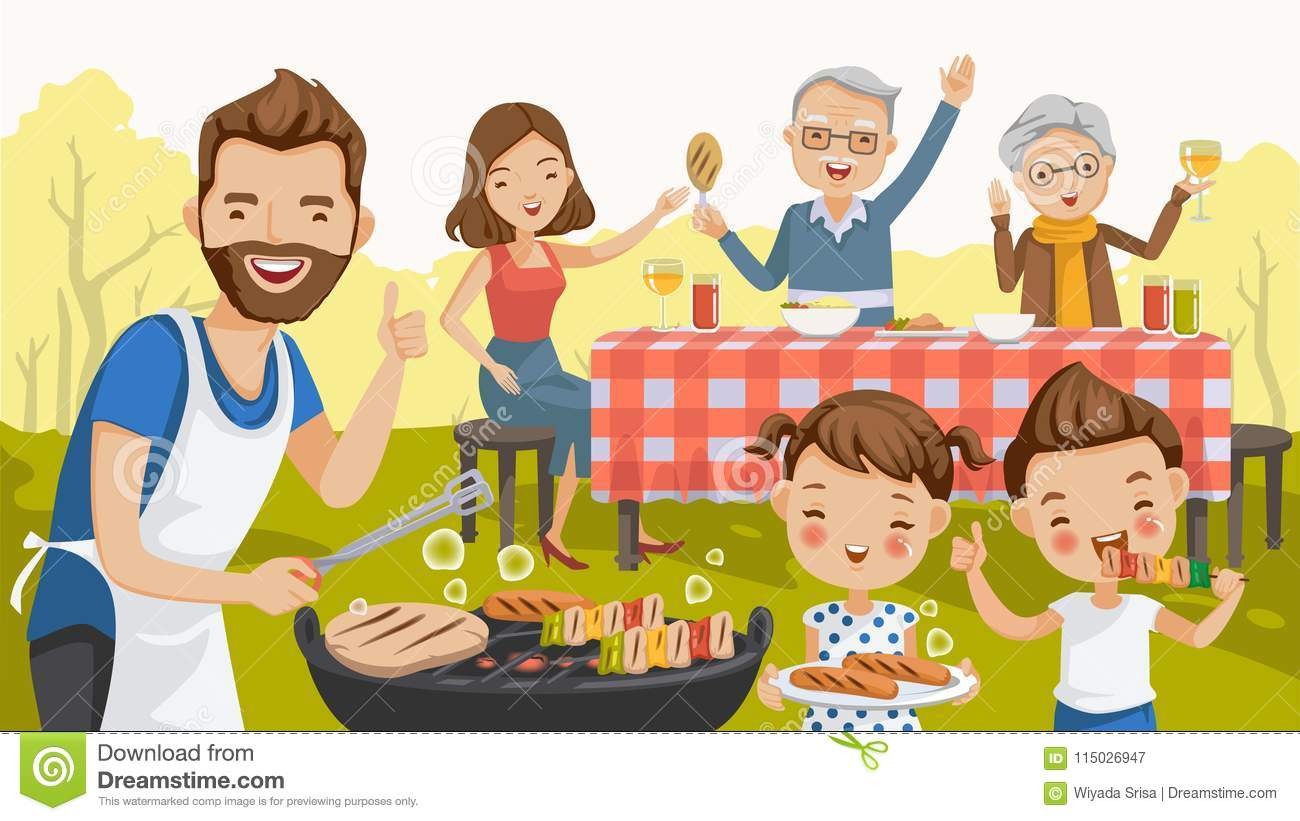 Barbecue family
