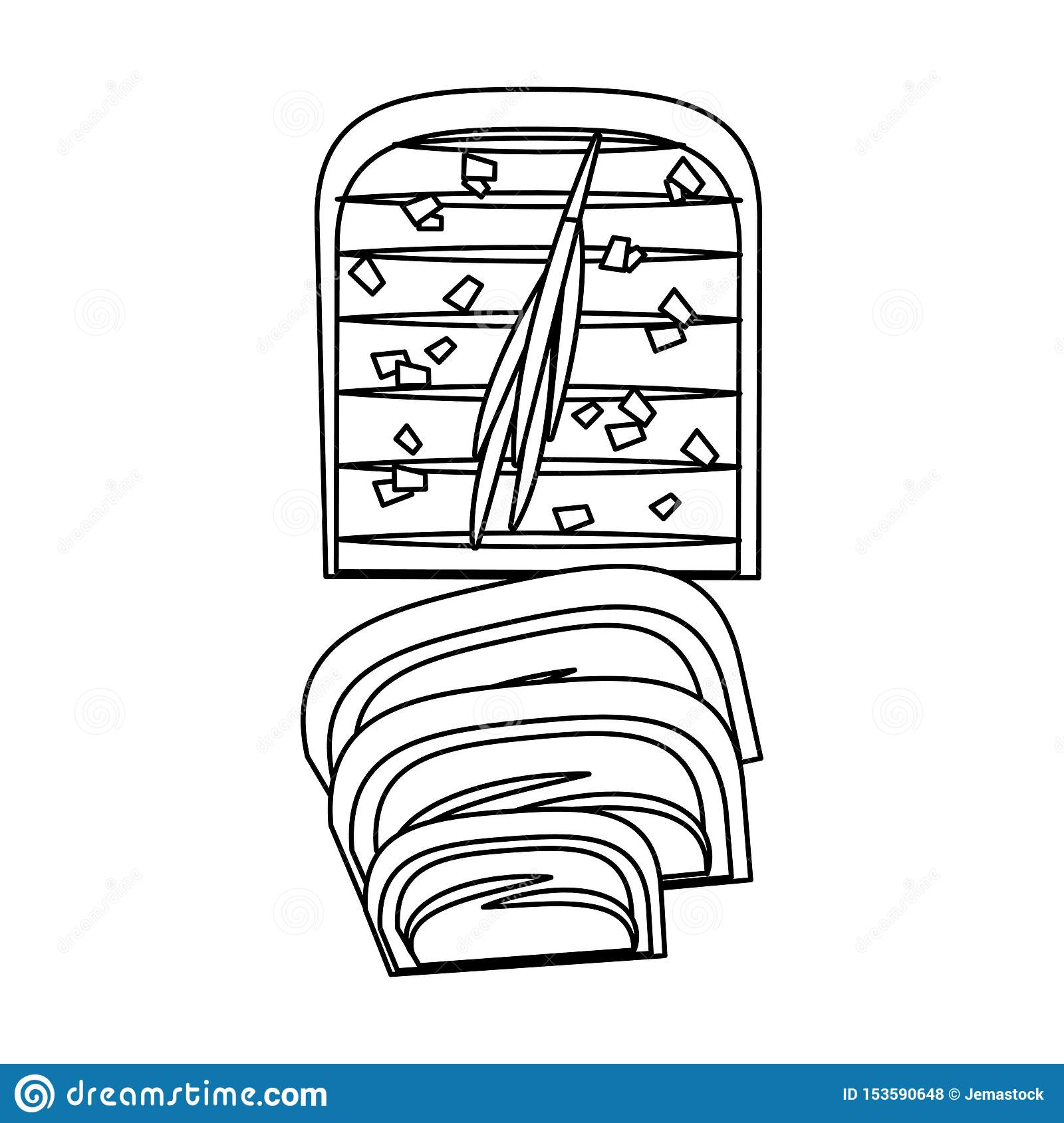 barbecue food beef steak grilled cartoon in black and white stock vector illustration of fatty hotdog 153590648 dreamstime com