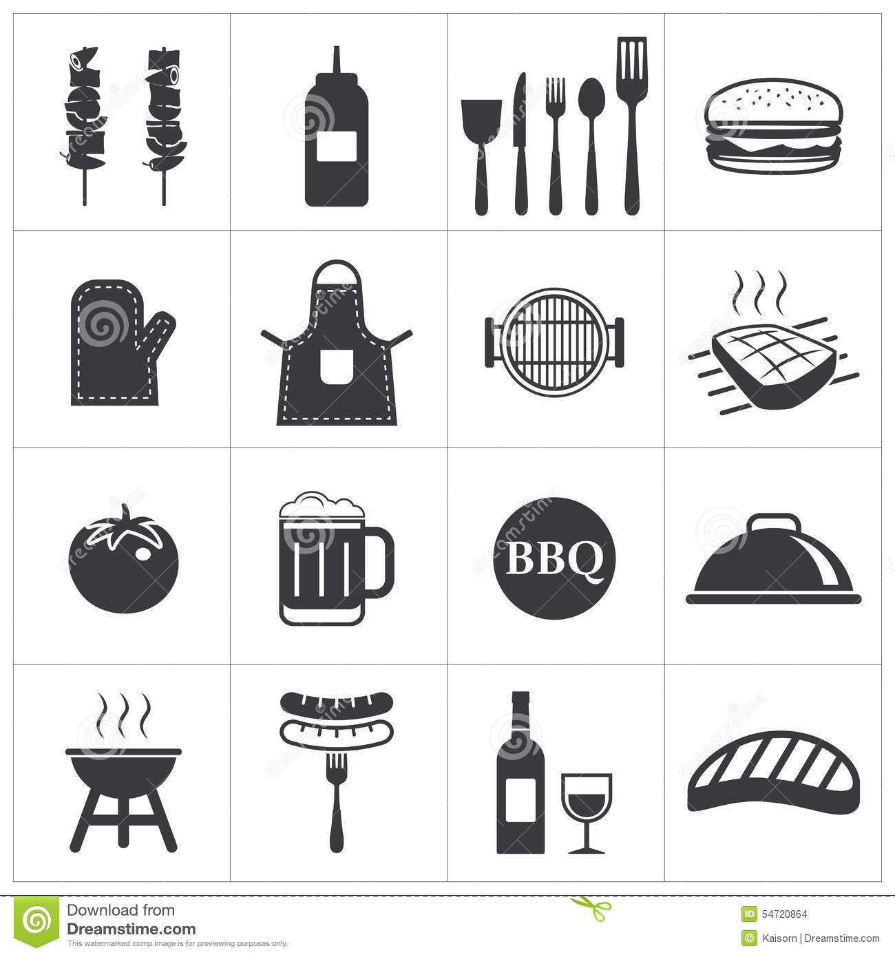Grill Icon Barbeque Symbol Stock Photos, Images, & Pictures - 772 ...