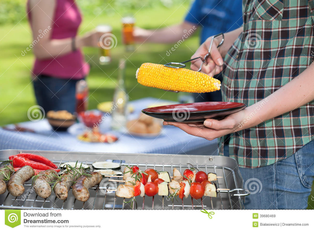 Barbecue meeting