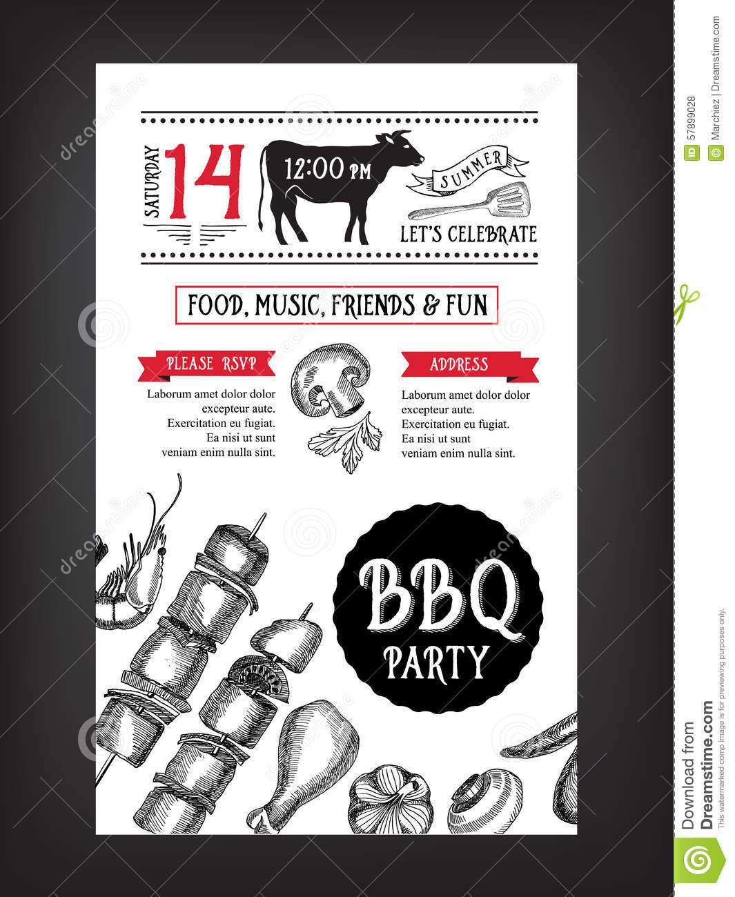Invitation For Bbq for good invitations sample