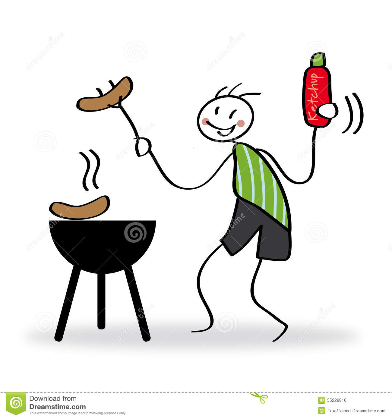 barbecue party stock illustration illustration of