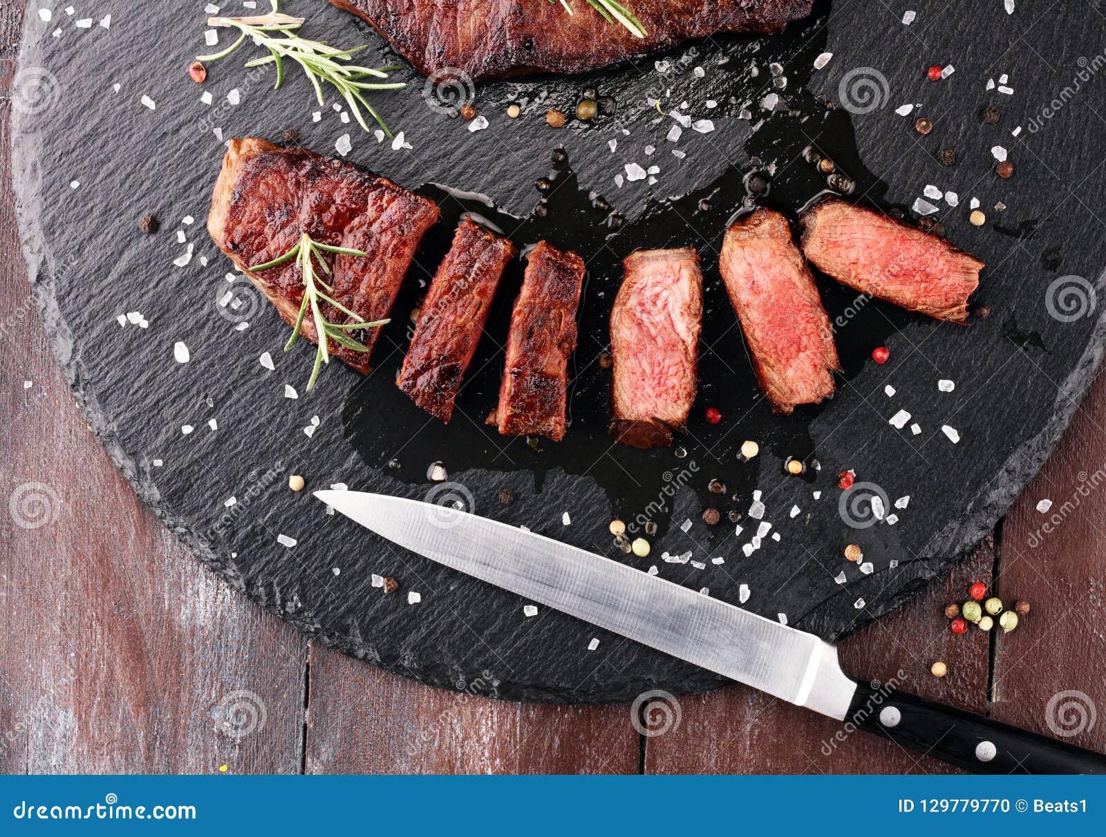 Barbecue Rib Eye Steak of achterdeellapje vlees - Droog Oud Wagyu-Entrecôte