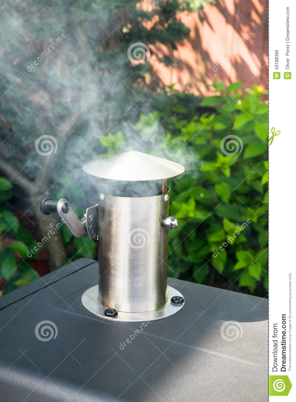 Barbecue Smoker Stock Photo Image Of Q Grilled Dinner