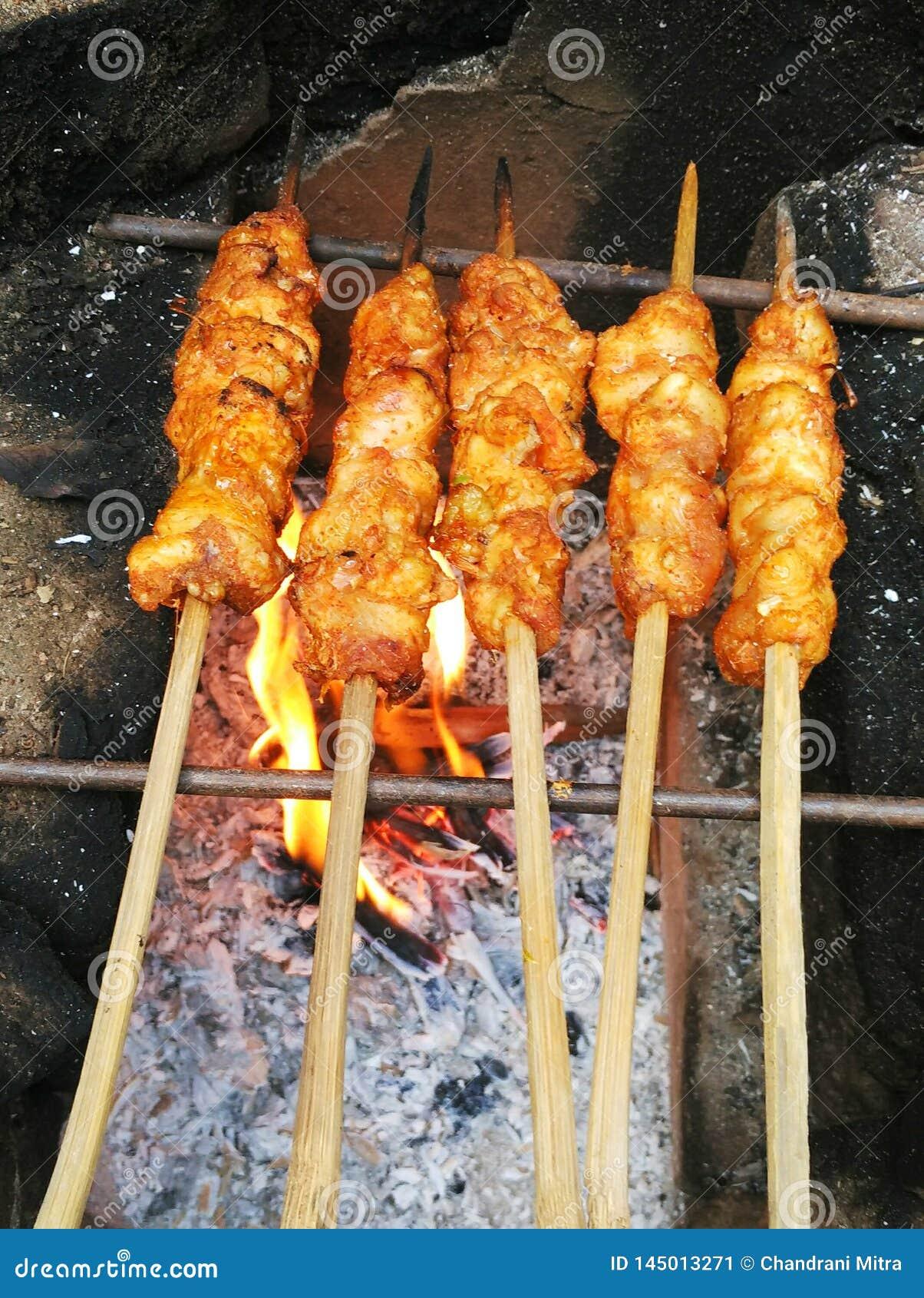 Barbecued kurczak