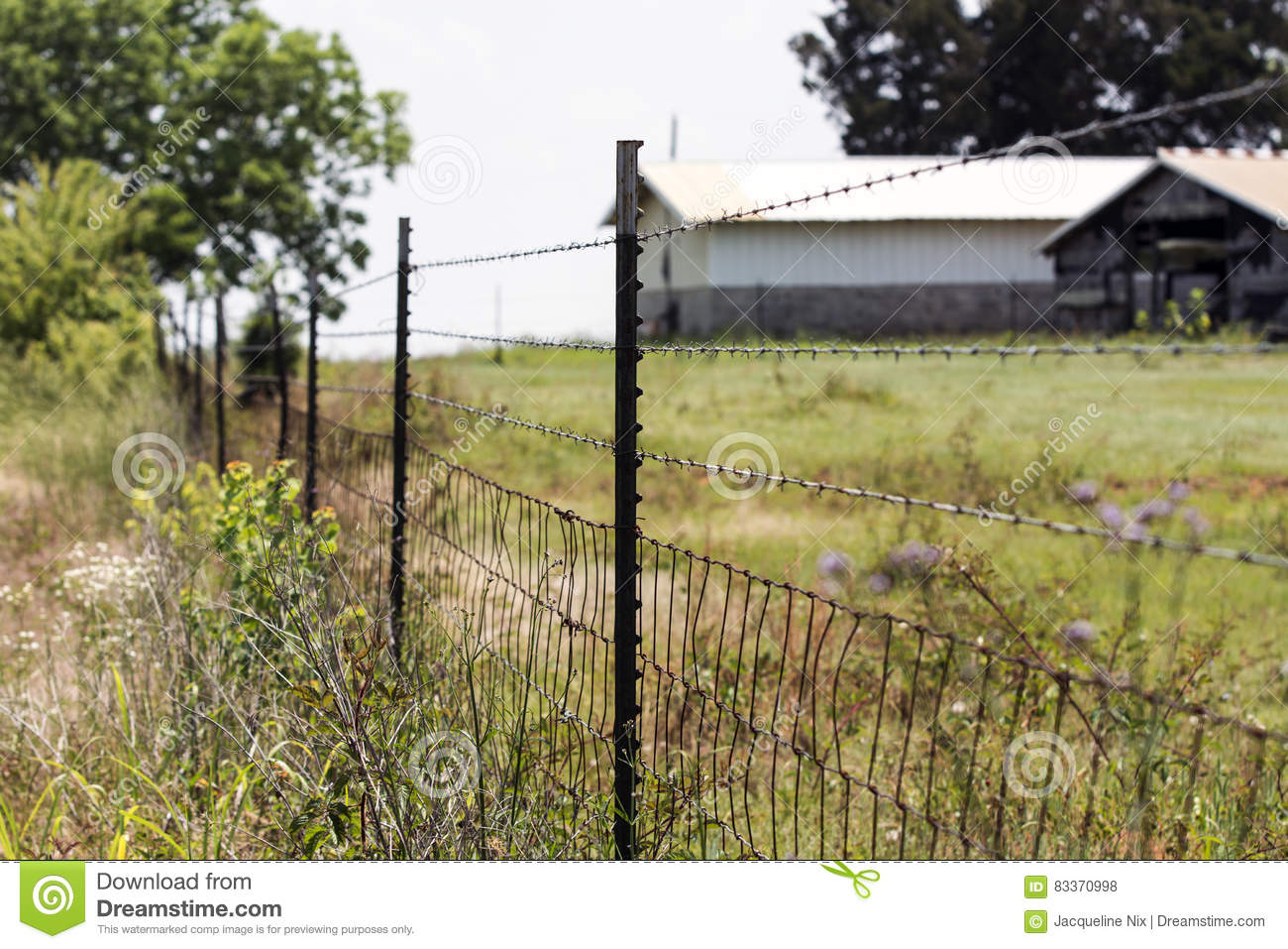 Fantastic Pasture Woven Wire Fence Elaboration - Electrical and ...