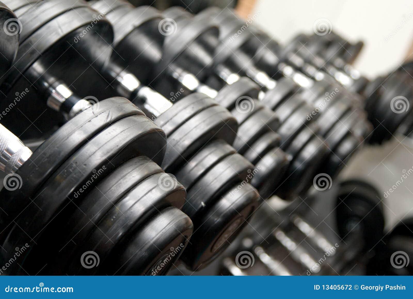 Barbells μαύρη γυμναστική