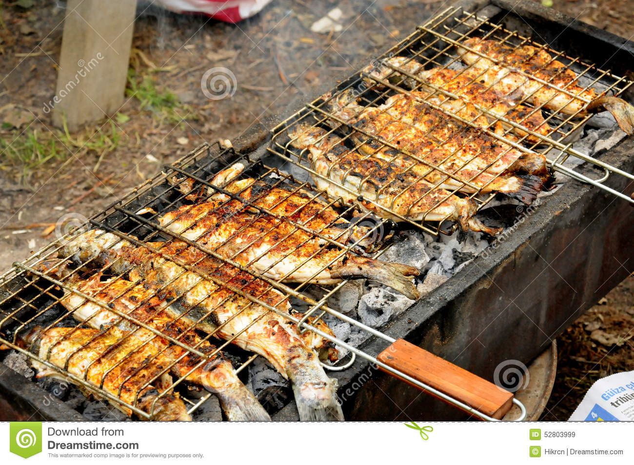 Barbeque In The Garden In Summer Stock Image - Image of picnic ...