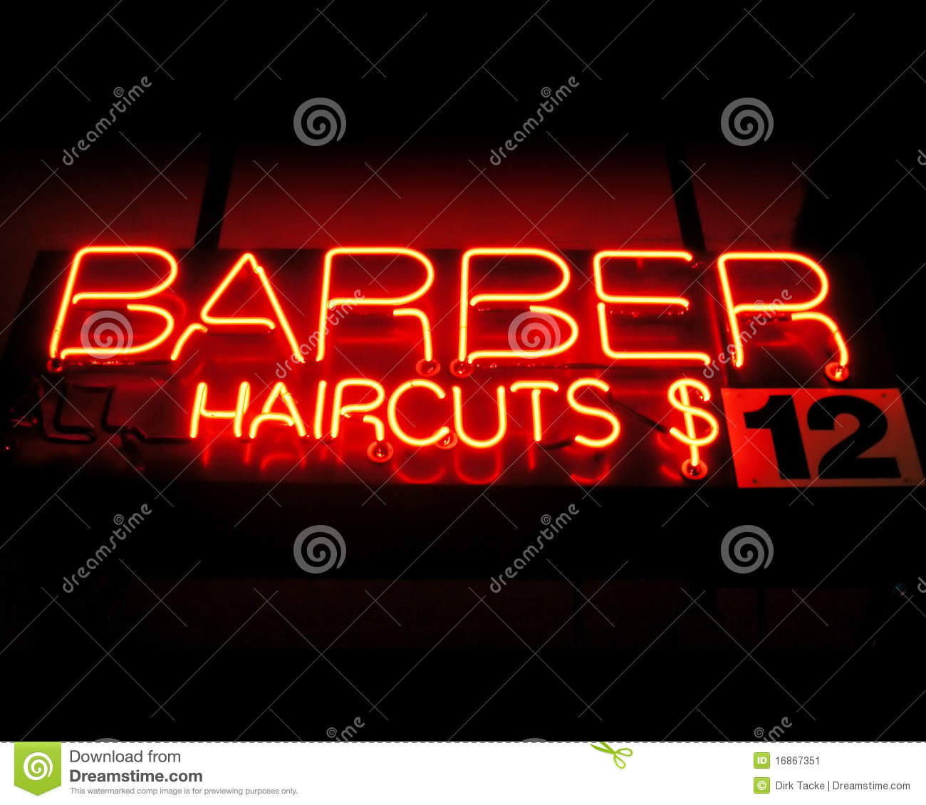 Barber Shop Queen Creek Az : Barber - haircuts neon sign Haircuts To Signs