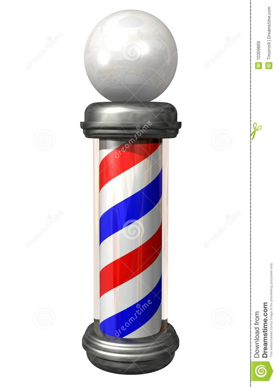 Barber Pole Royalty Free Stock Images - Image: 10359869