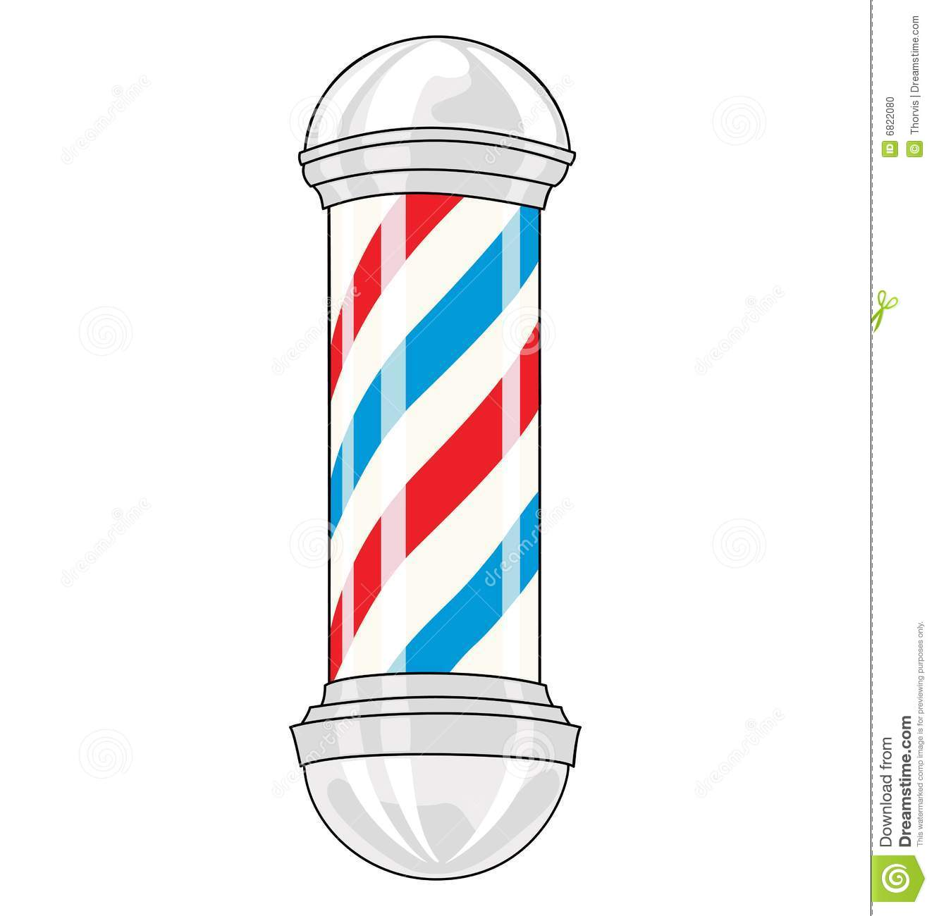 barber pole stock photo image 6822080 Copyright Free Images of Barber Shop Poles Clip Art free barber shop pole clipart