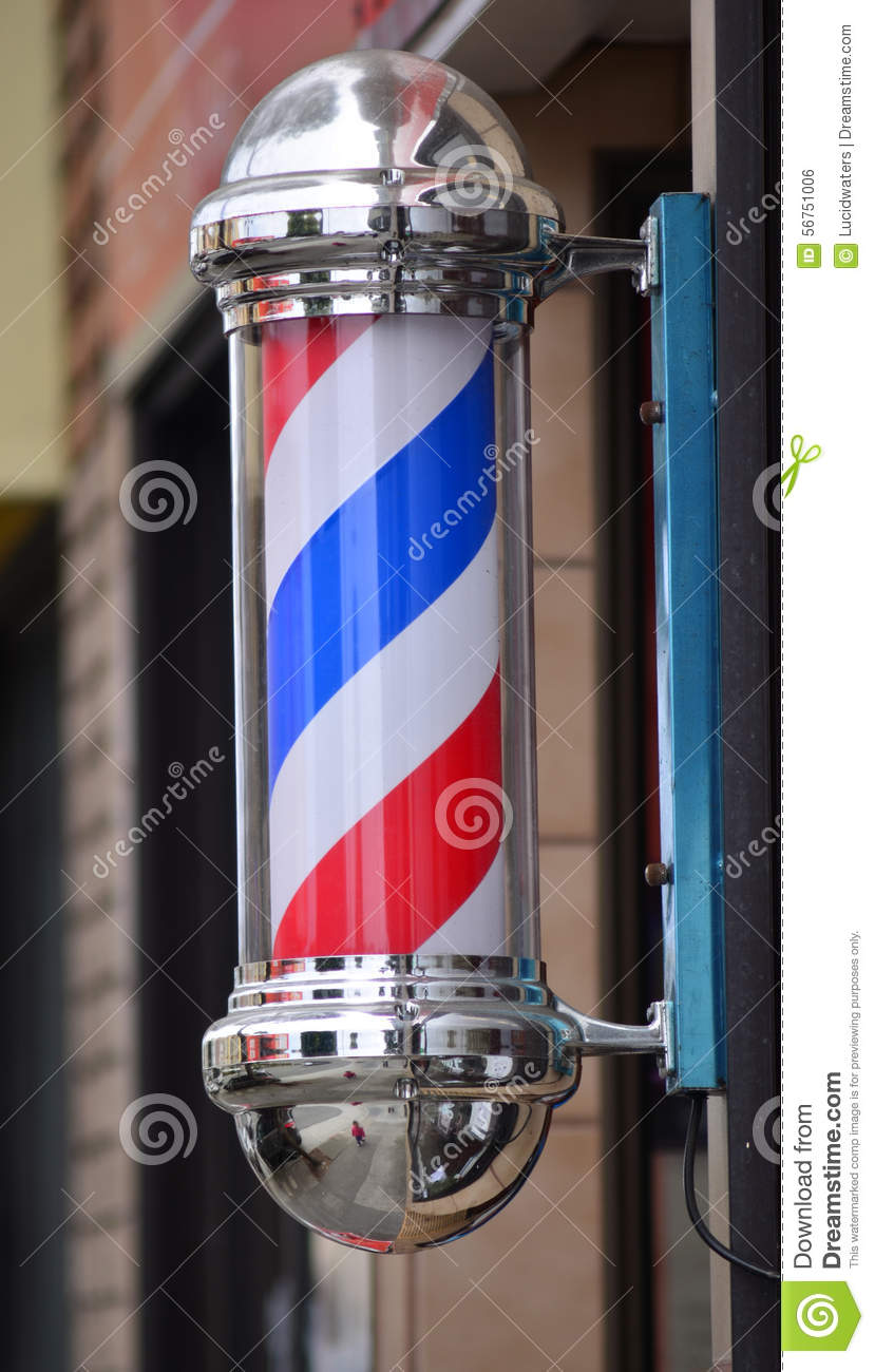 Barber Clipart Barber Pole Sign Stock...