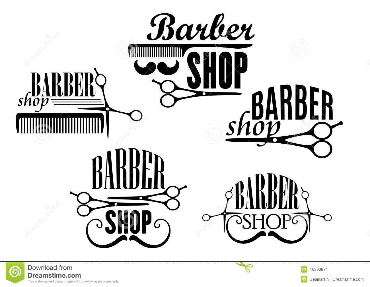 Image result for vector images barber