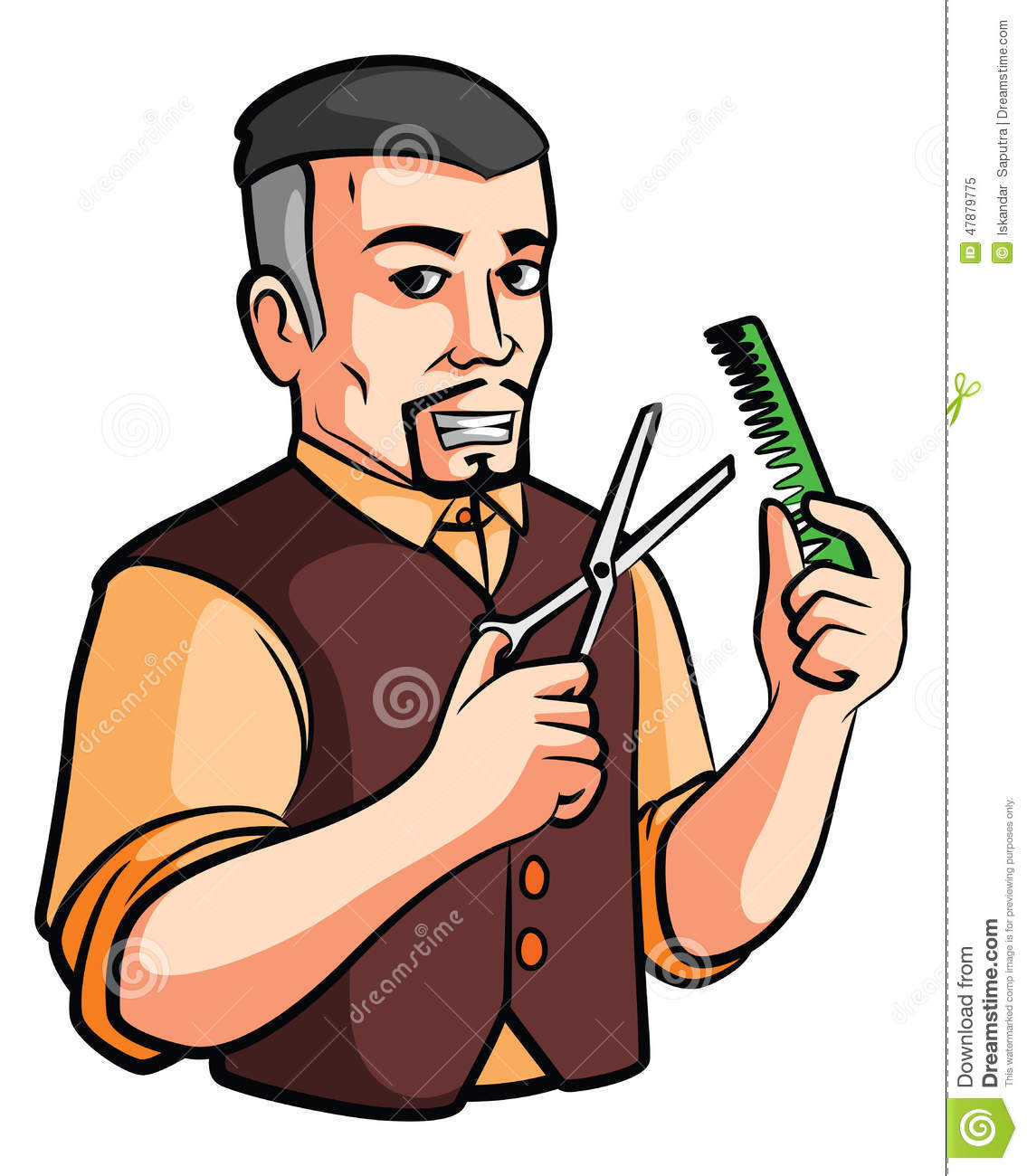 Barber Clipart Barber shop stock vect...