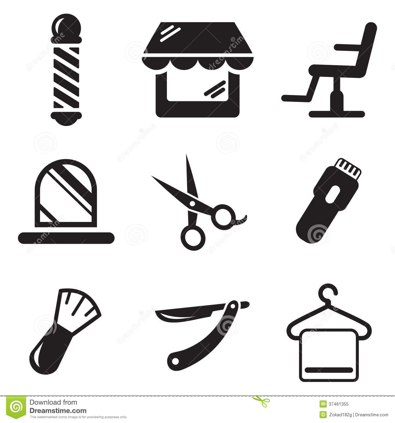 Barber Clipart This Image Is A Vector