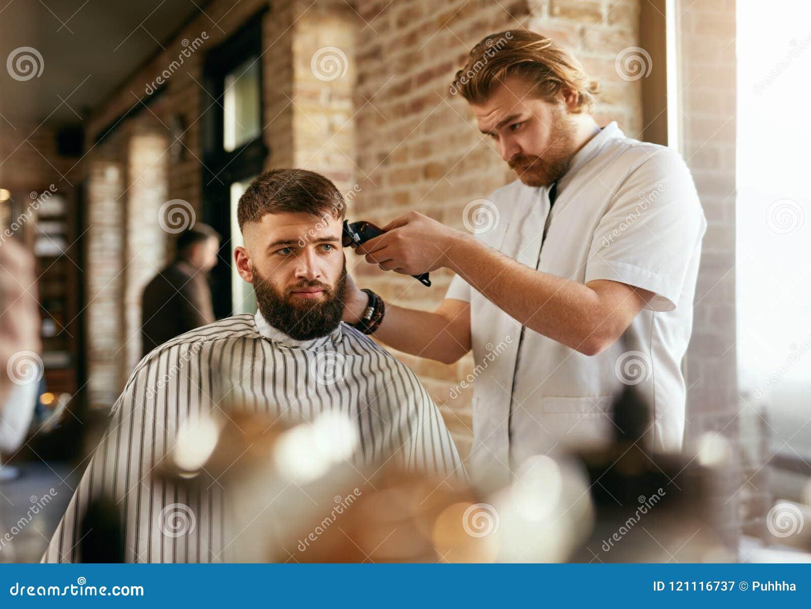 Getting A Haircut 25