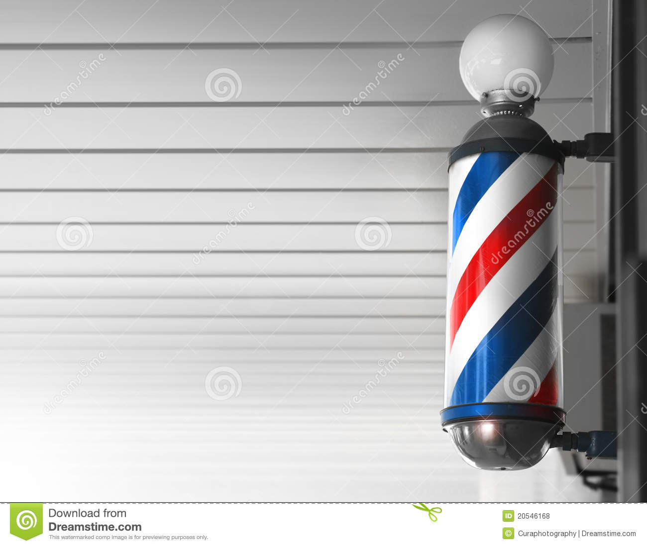 Barber Shop Pole Royalty Free Stock Photos Image 20546168