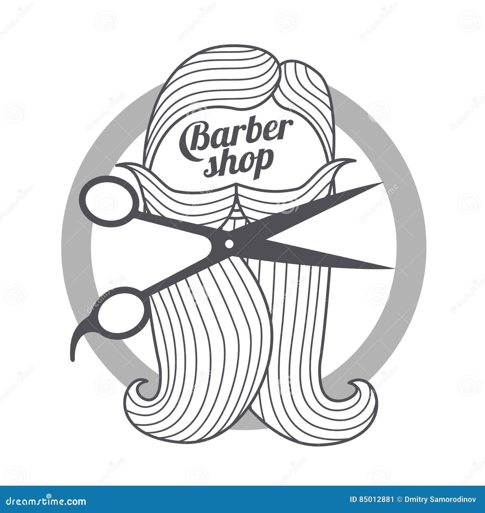 Barber Shop Templates Stock Illustration. Illustration Of