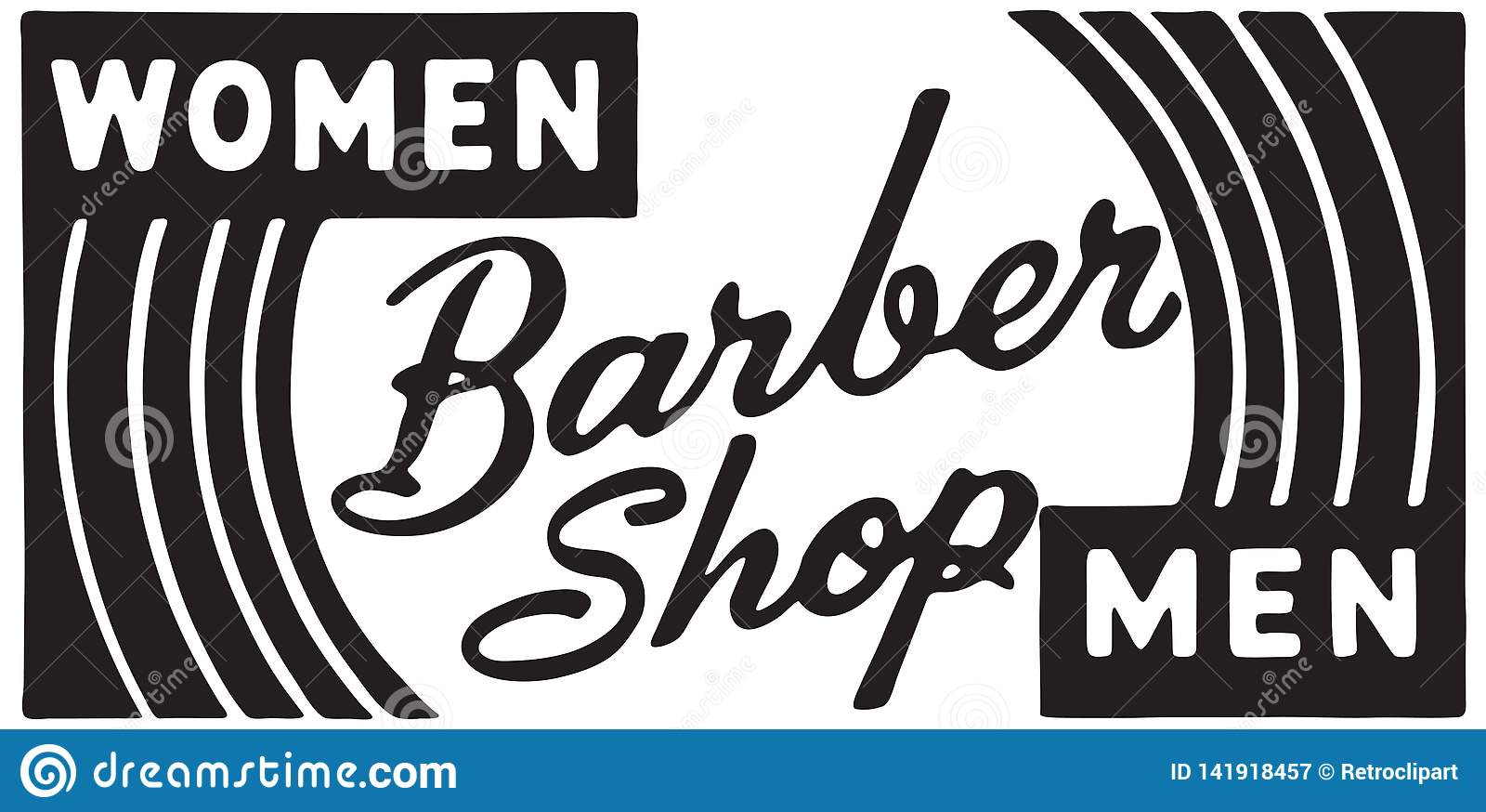 Barber Shop Women Men