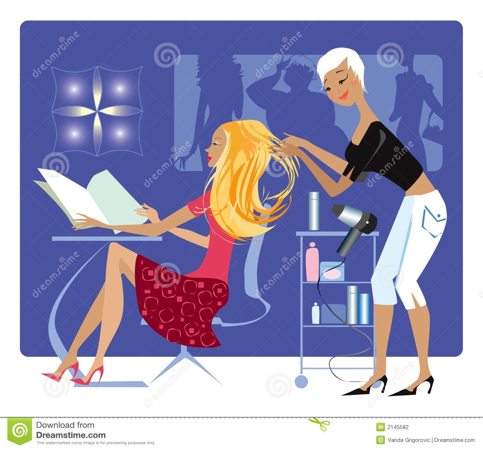 Barberare s shoppar