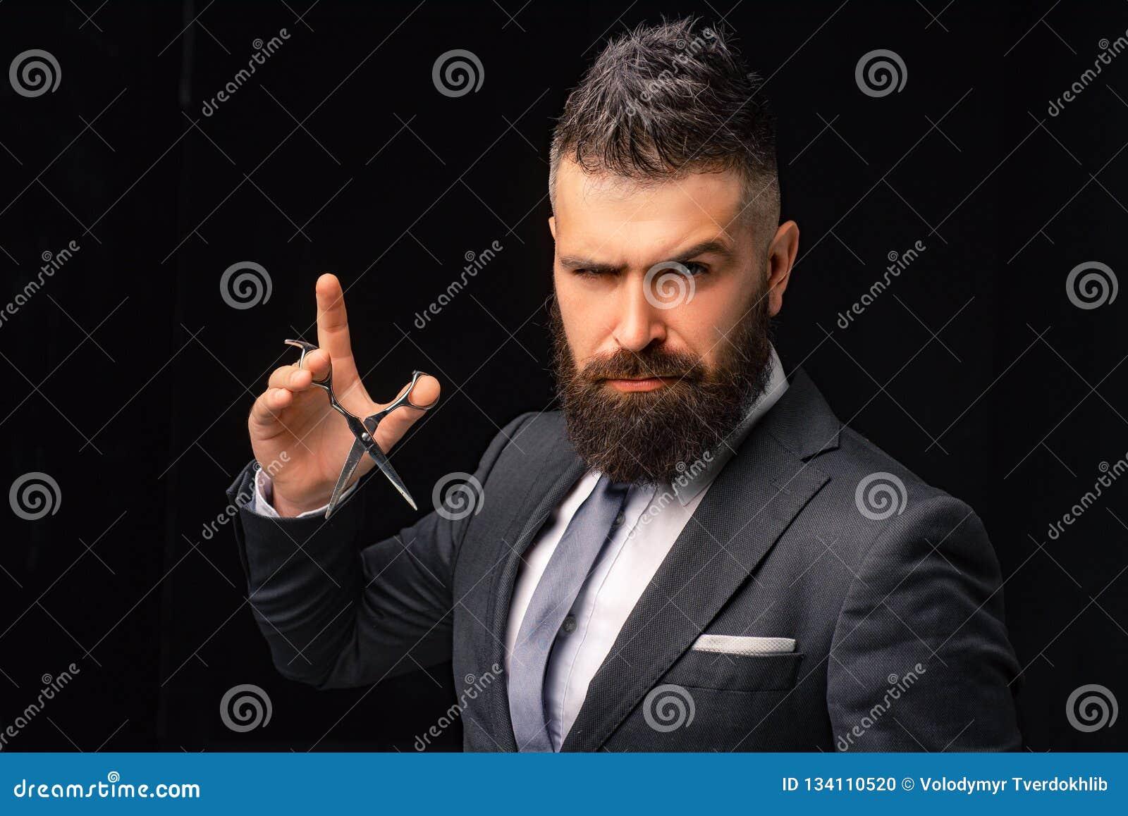 Barbershop Hair Salon And Barber Vintage Barber On Black