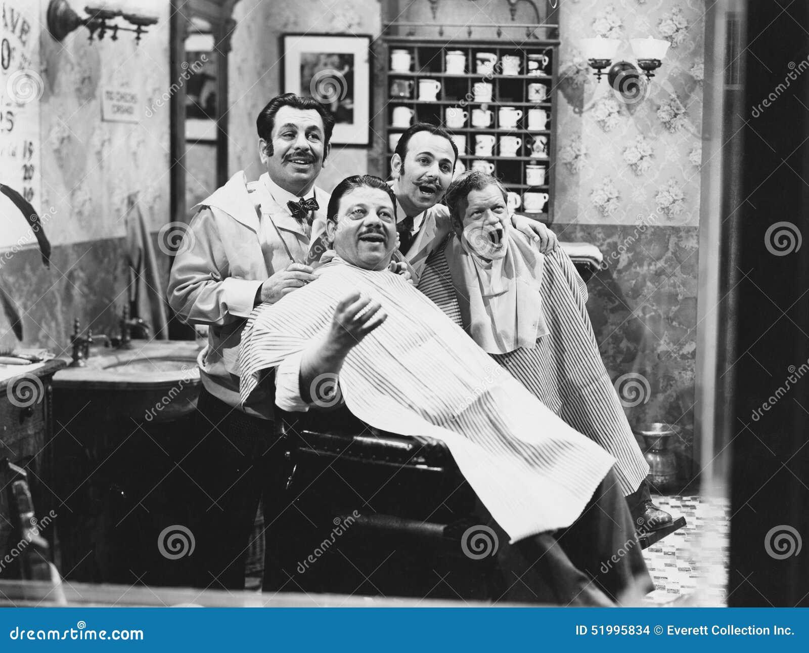 Barber Quartet : BARBERSHOP QUARTET (All persons depicted are no longer living and no ...