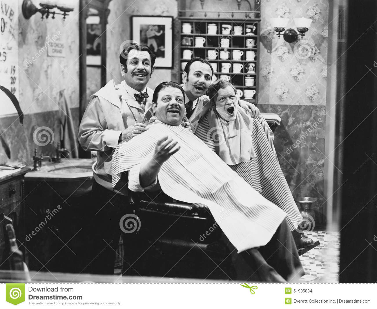 BARBERSHOP QUARTET (All persons depicted are no longer living and no ...