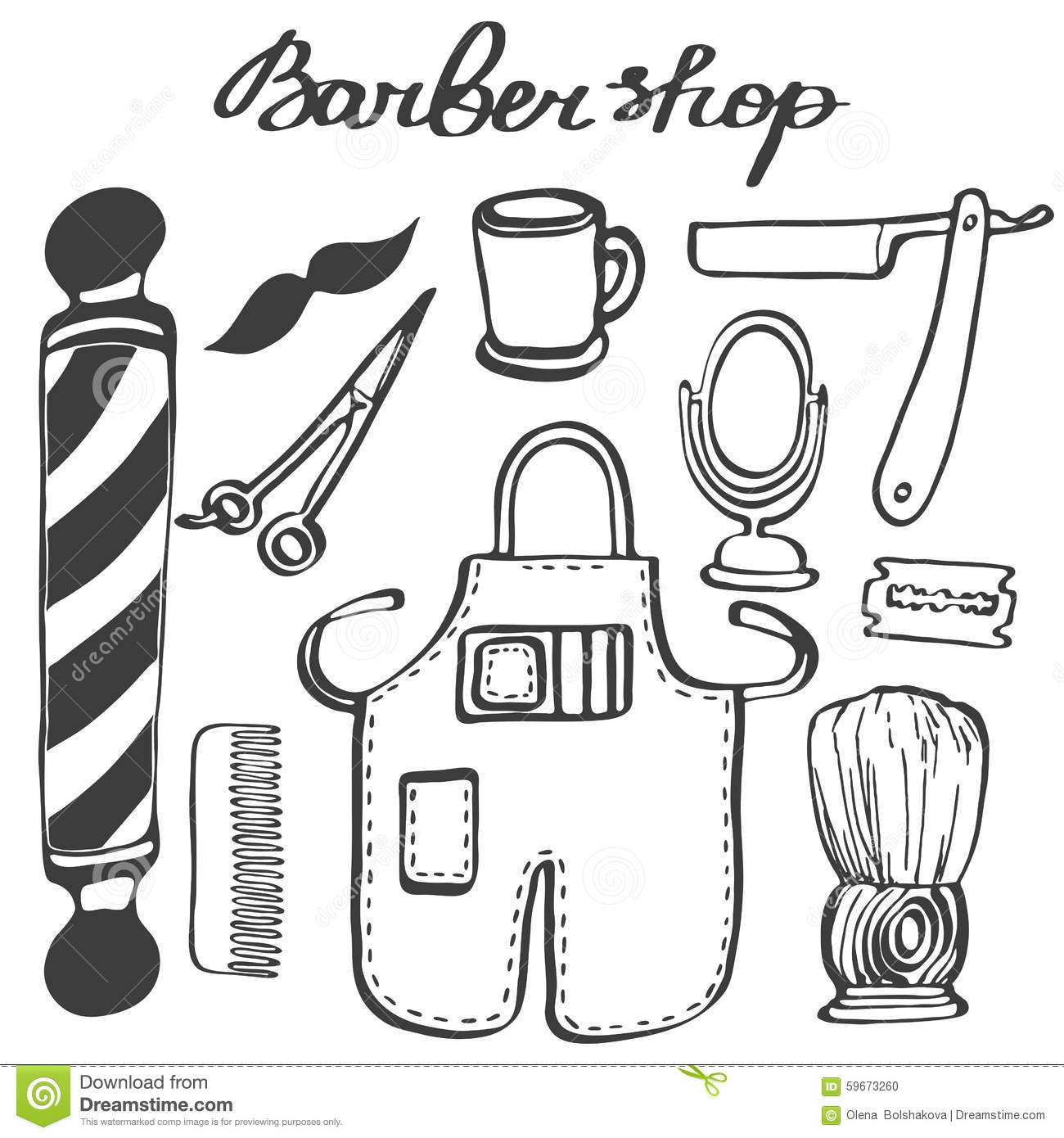Search additionally 179944 also Stock Illustration Barbershop Set Hand Drawn Cartoon Hairdressing Stuff Doodle Drawing Vector Illustration Image59673260 furthermore Pente De Cabelo besides 78. on 3580