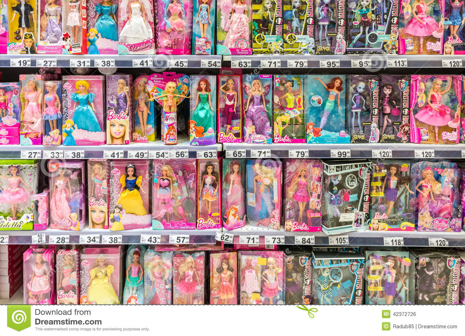 Barbie Toys For Girls : Barbie toys for girls editorial photo image