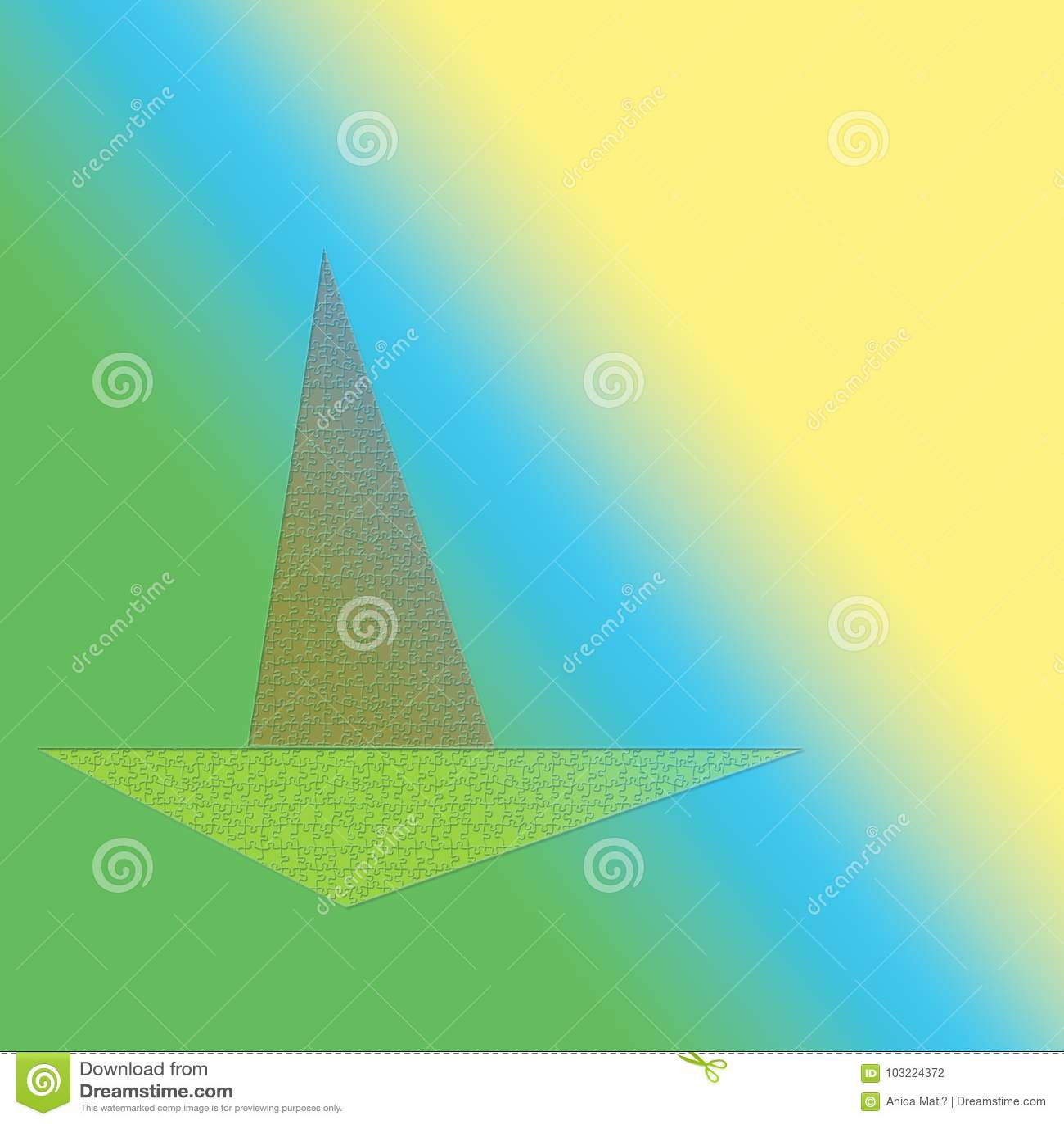 Barca sul mare soleggiato