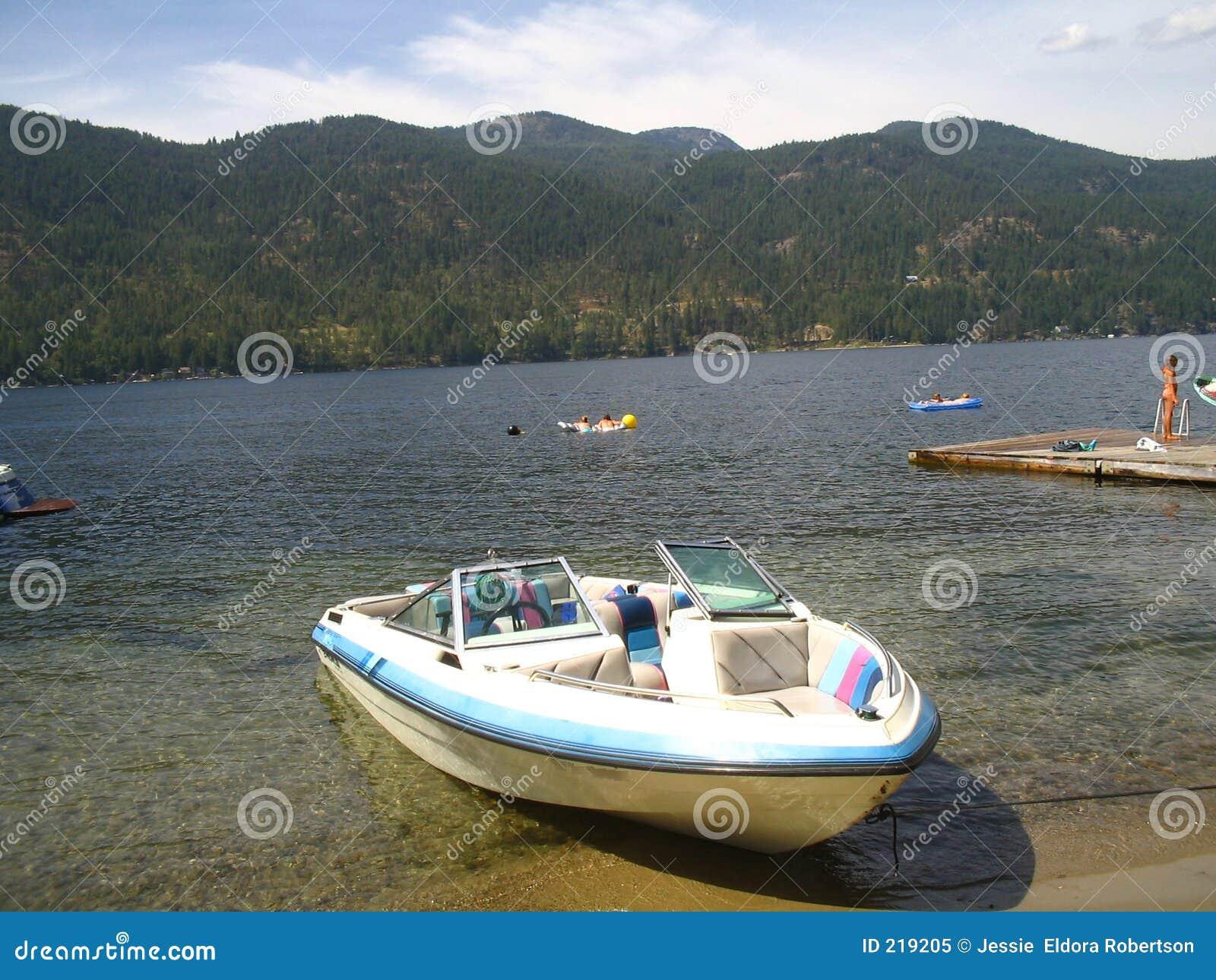 Barca sul puntello