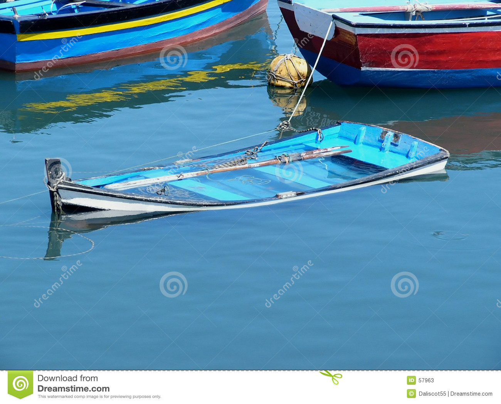 Barca Sunken
