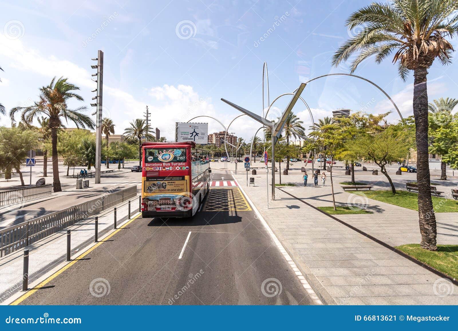 Barcellona spagna 24 agosto 2014 viste della via del for Agosto a barcellona