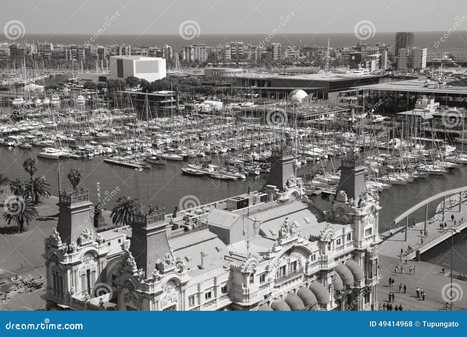 Download Barcelona stockfoto. Bild von stadt, städtisch, spanisch - 49414968