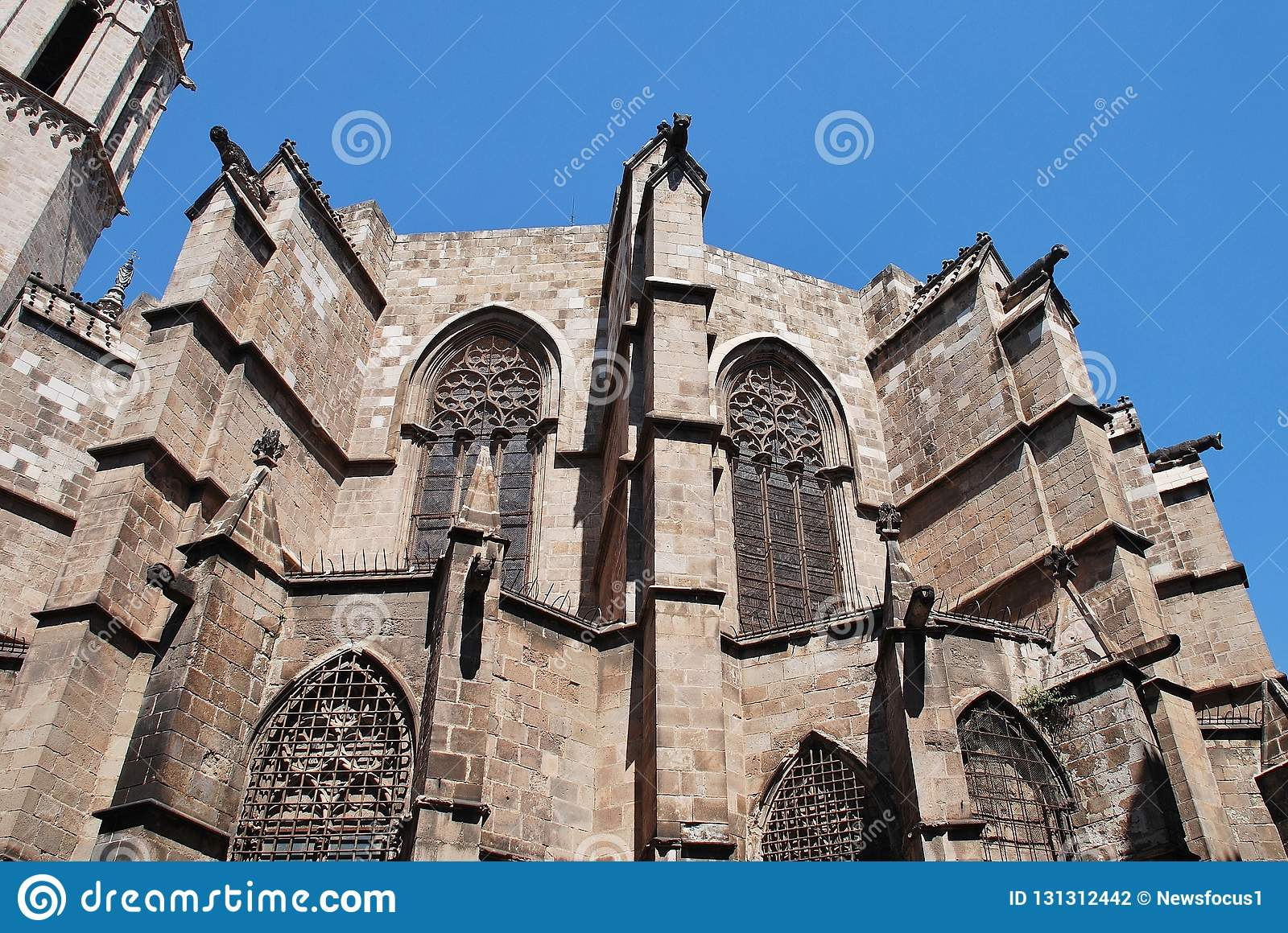 Barcelona Cathedral, Catalunya Stock Photo - Image of