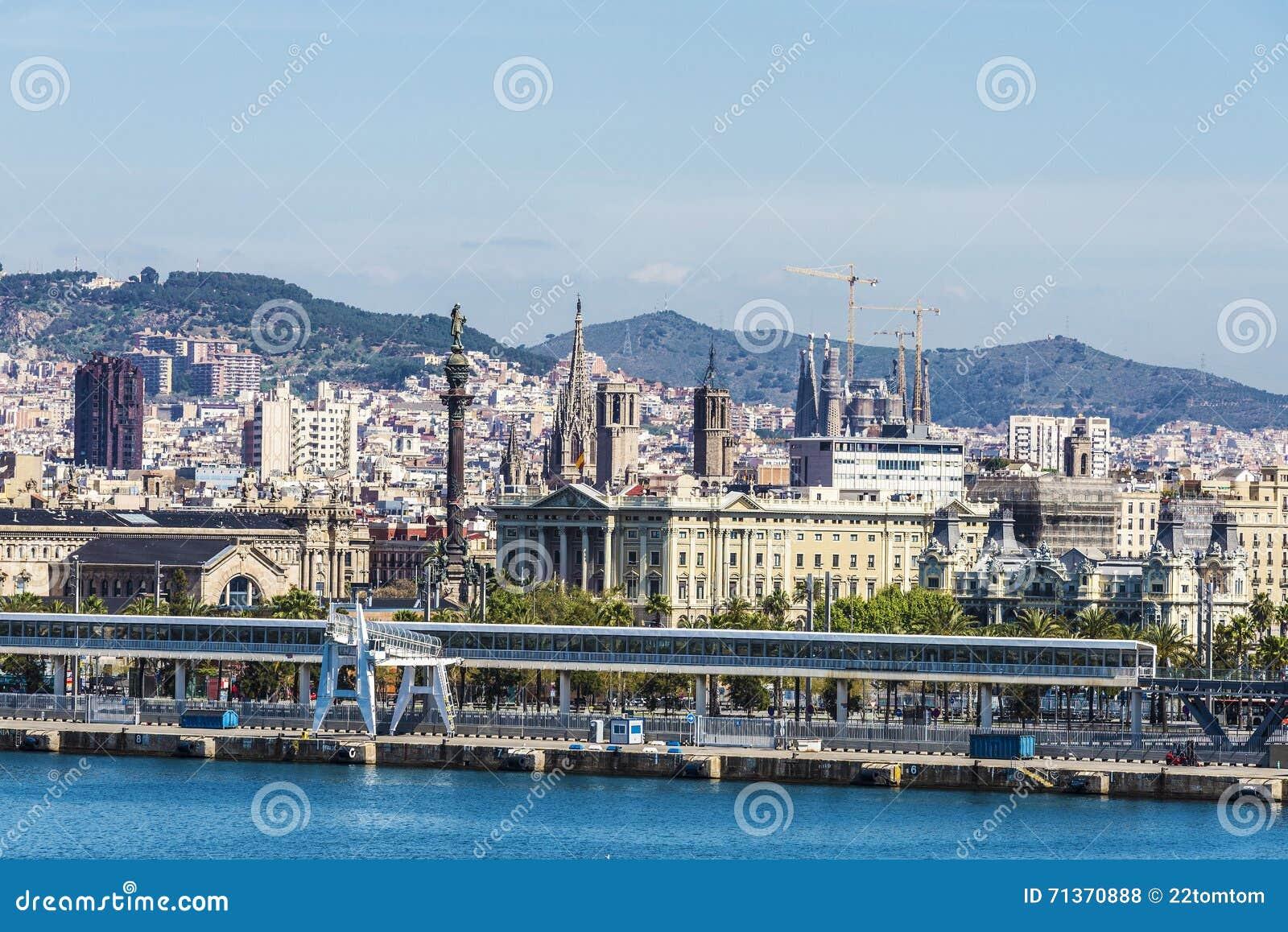 Barcelona horisont