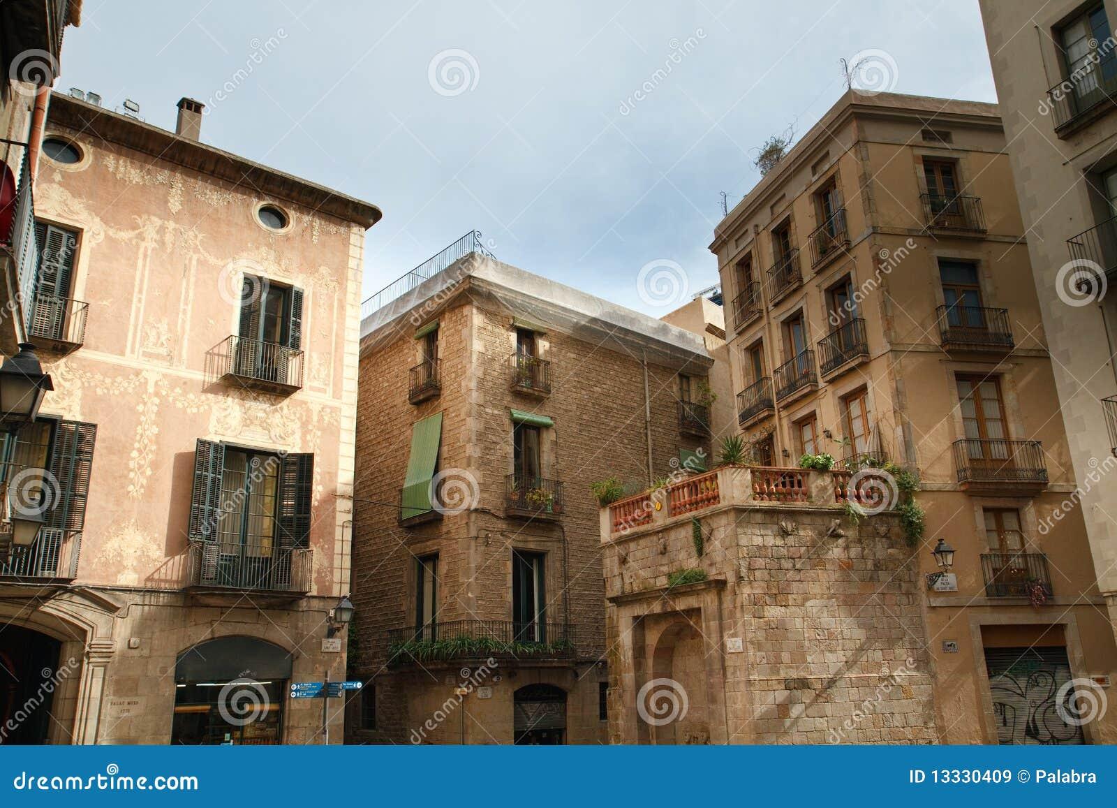 Barcelona miasta stara część