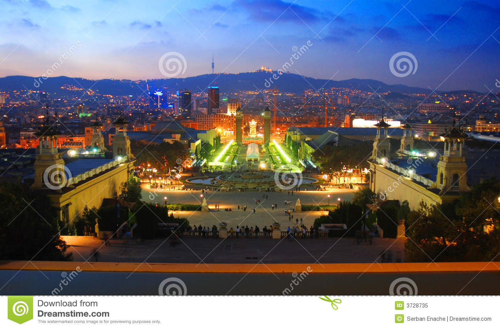 Barcelona natt