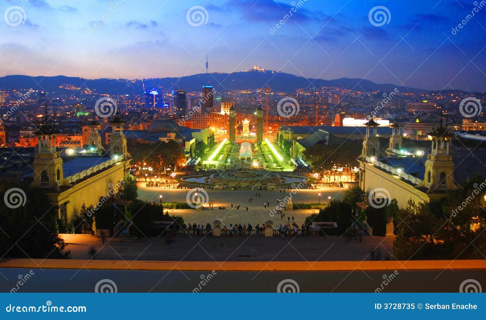 Barcelona noc