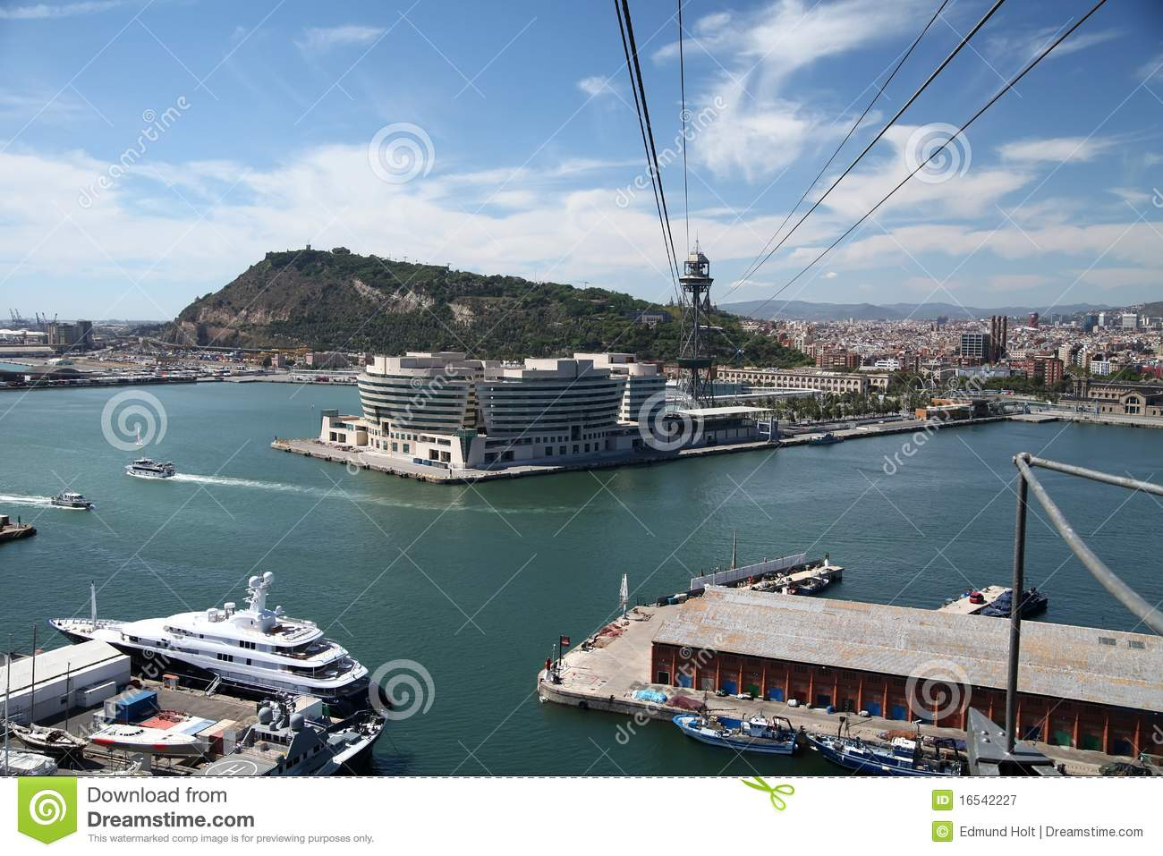 Barcelona Port & Cable Car