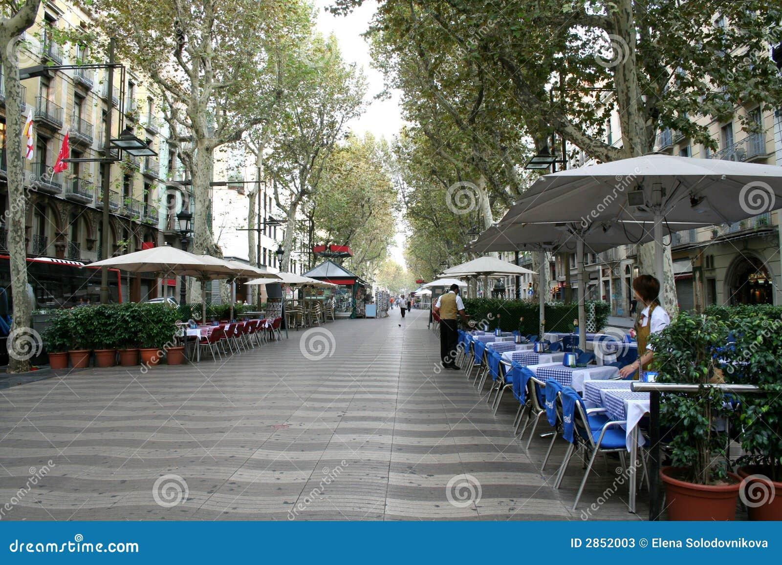 Barcelona s Rambla street