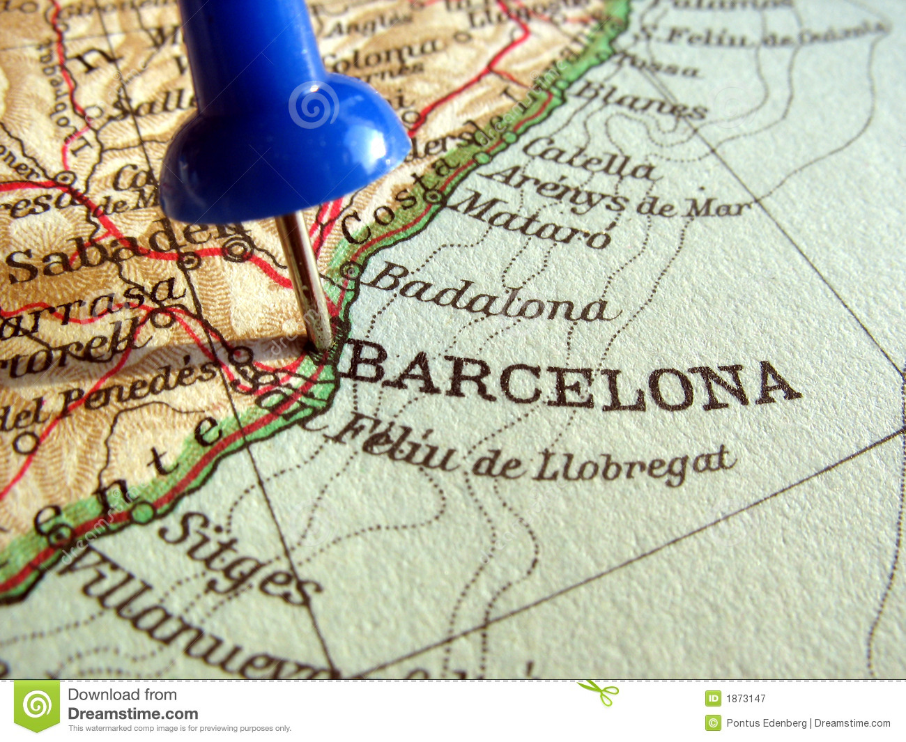 Barcelona, Spain Royalty Free Stock Photography - Image: 1873147