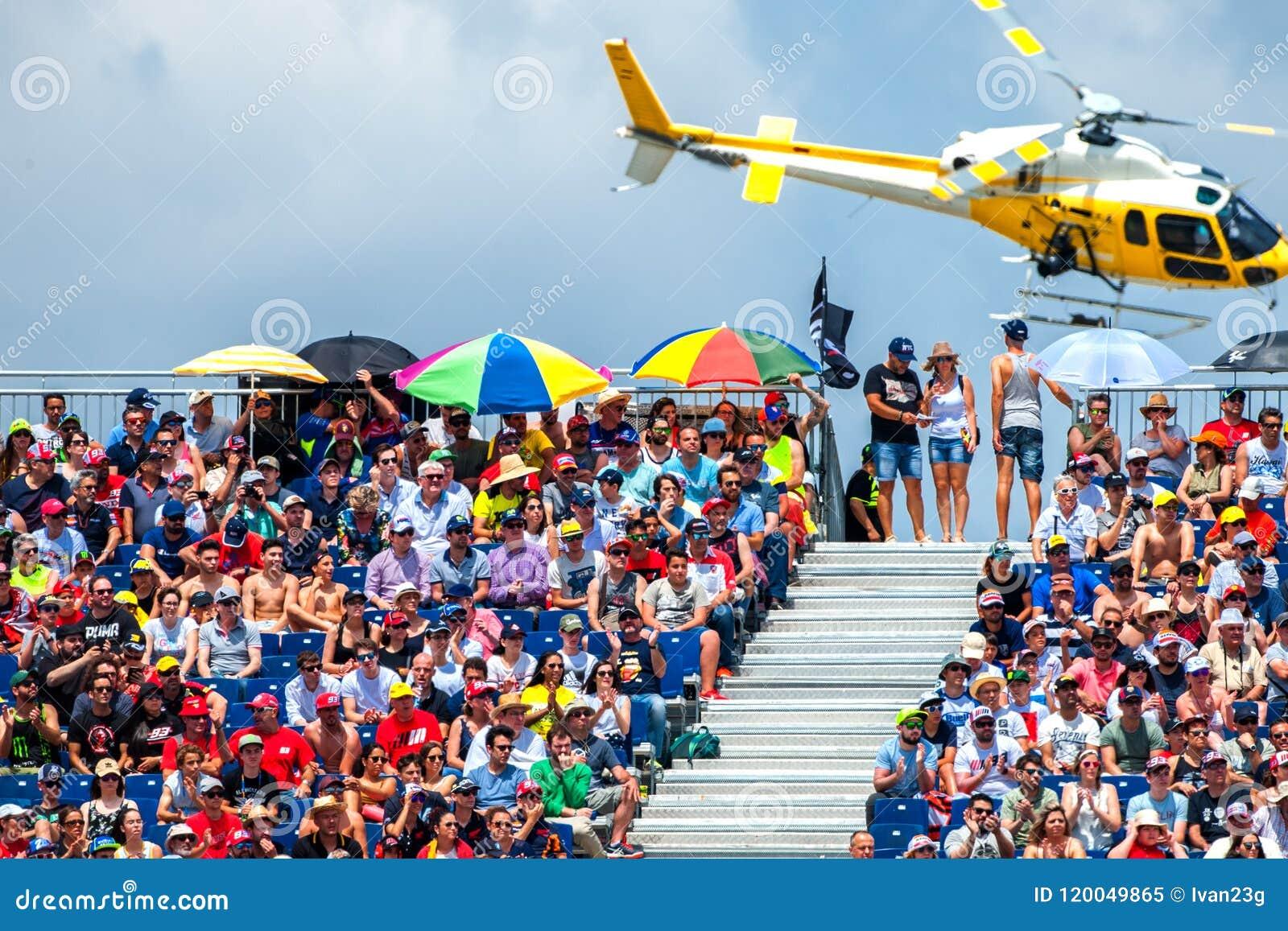 Gp Catalunya Motogp 2018 Editorial Image Image Of Event 120049865
