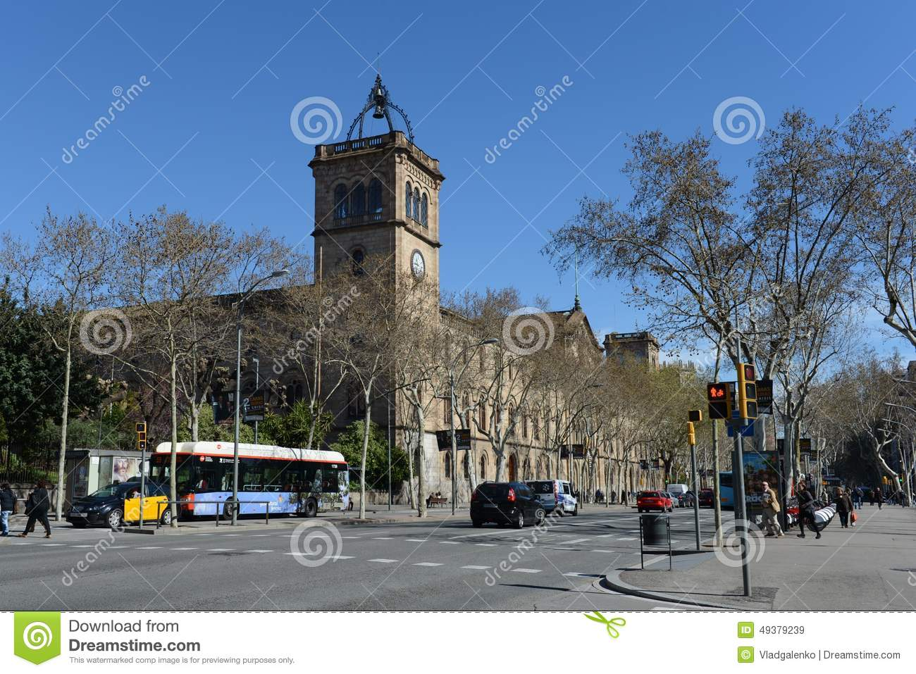 Barcelona. Spain Editorial Stock Image - Image: 49379239