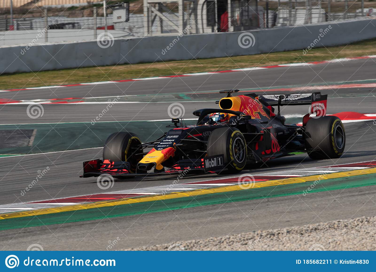 Pierre Gasly F1 Racing Driver In Red Bull Car Editorial Photo Image Of Noma Martin 185682211