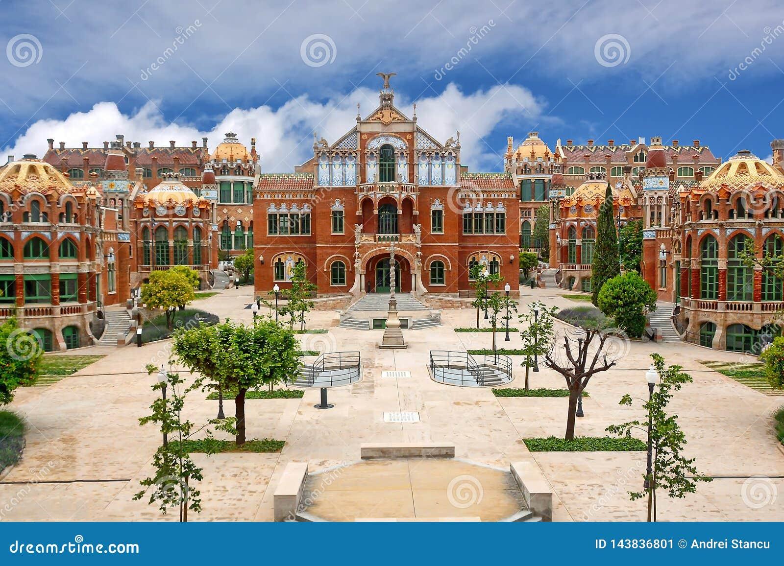 Barcelona, Spanien - Columbus Statue