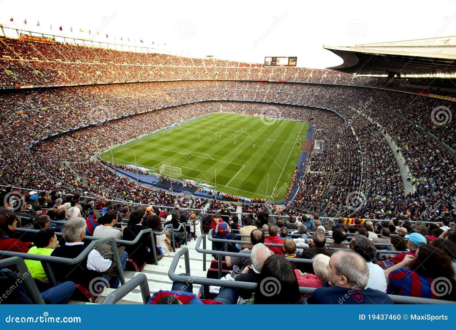 Barcelona trängde ihop fcstadion