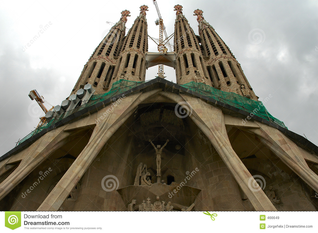 Barcelona - Unfinished cathedral